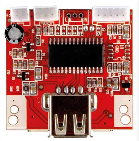 MP3 prehrávač hotový modul Velleman VM202N, 9 V/DC, 12 V/DC