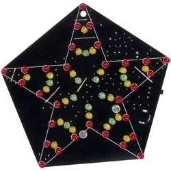 LED hvězda reagující na zvuk Velleman MK172, 9 - 12 V/DC (stavebnice)