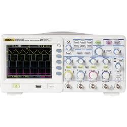 Digitální osciloskop Rigol DS1204B, 200 MHz, 4kanálový