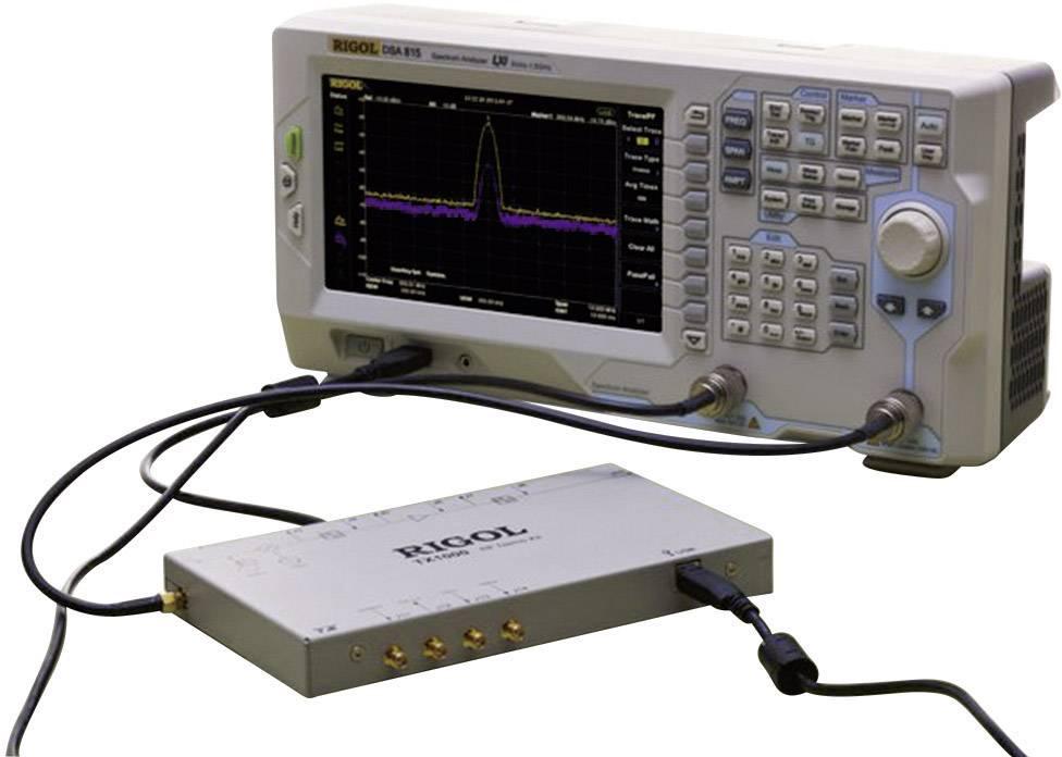 Spektrální analyzátor a tracking generátor Rigol DSA815-TG, 9 kHz - 1,5 GHz GHz, Šířky pásma (RBW) 100 Hz - 1 MHz