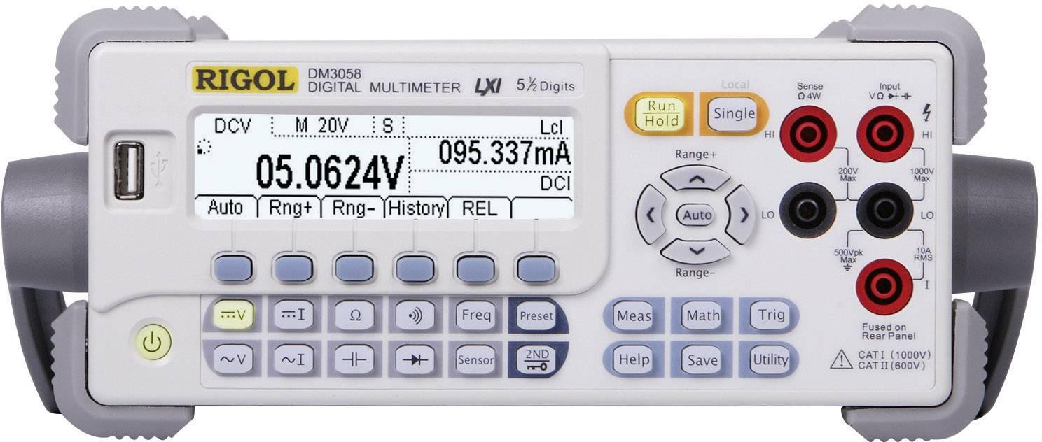 Digitálne/y stolný mutlimeter Rigol DM3058E