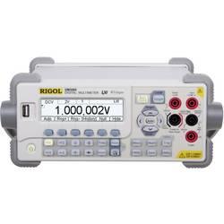 Digitálne/y stolný multimeter Rigol DM3068, kalibrácia podľa ISO