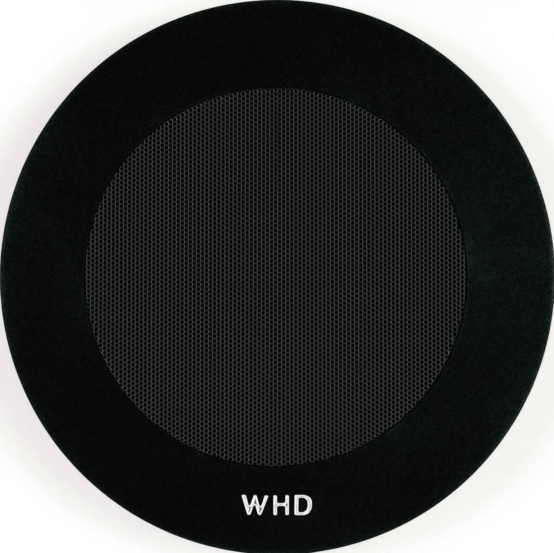 Kulatý kryt WHD KBRA Basic, černá