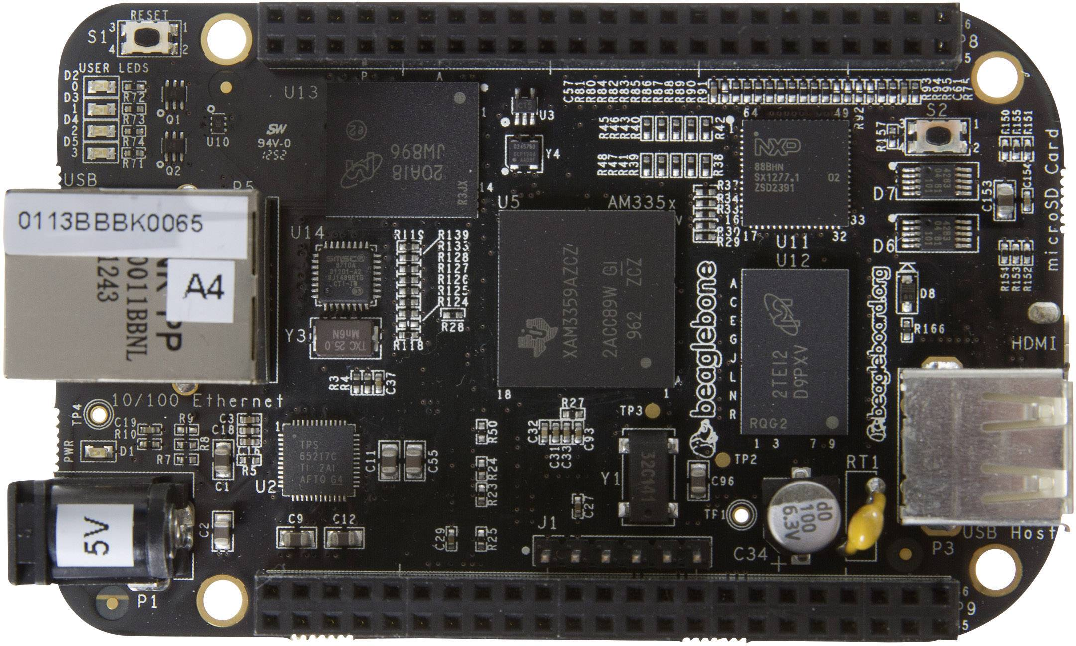 Vývojová deska BeagleBoard BeagleBone ver. C, BB-BBLK-000 Rev C