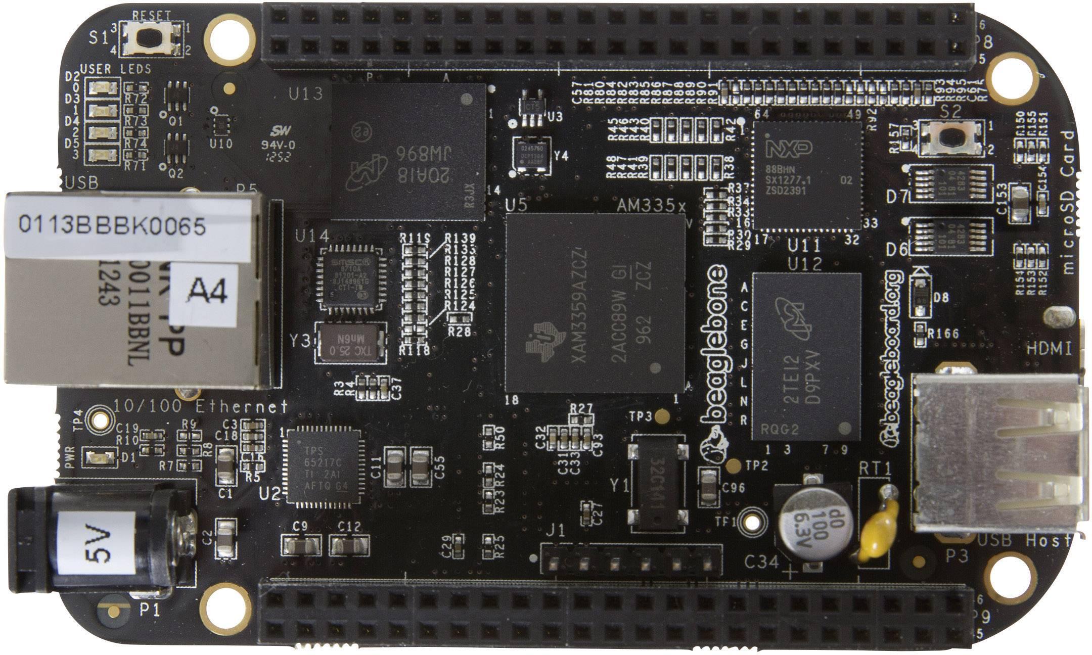 Vývojová doska BeagleBoard BeagleBone ver. C, BB-BBLK-000 Rev C