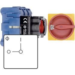 Odpínač Kraus & Naimer KG10B T203/01 FT2, 20 A, 1 x 90 °, červená, žlutá, 1 ks