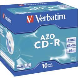 Verbatim CD-R80 700MB 52X 10 ks v krabičce