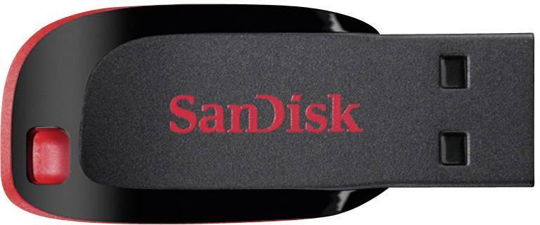 USB flash disk SanDisk Cruzer® Blade™ SDCZ50-032G-E95, 32 GB, USB 2.0, čierna