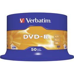 DVD-R 4.7 GB Verbatim 43548, 50 ks, vreteno