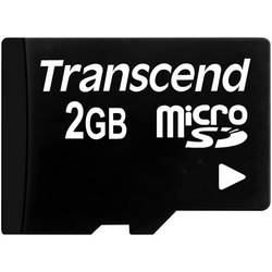 Pamäťová karta micro SD, 2 GB, Transcend TS2GUSDC, Class 2