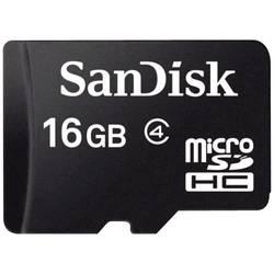 Pamäťová karta micro SDHC, 16 GB, SanDisk SDSDQM-016G-B35, Class 4