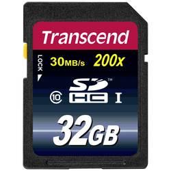 Pamäťová karta SDHC, 32 GB, Transcend Premium, Class 10