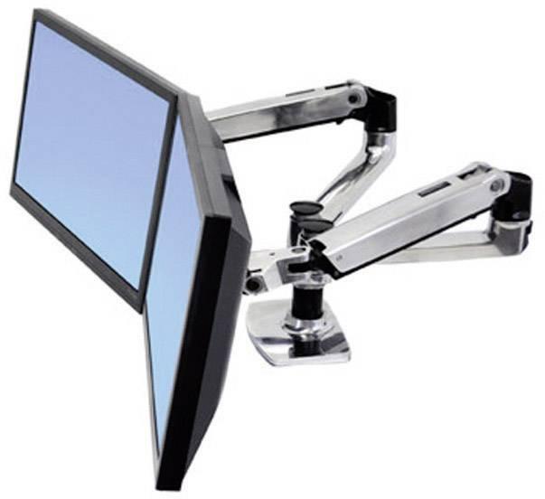 """Držák na stůl pro monitor Ergotron 45-245-026, 38,1 cm (15"""") - 68,6 cm (27""""), černá/stříbrná"""