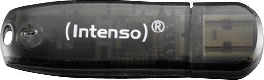 USB flash disk Intenso Rainbow Line 16 GB, USB 2.0, čierna
