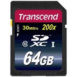 SDXC karta, 64 GB, Transcend Premium, Class 10