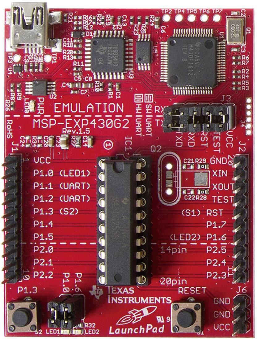 Vývojová deska pro mikrokontrolery MSP430G2xx, Texas Instruments MSP