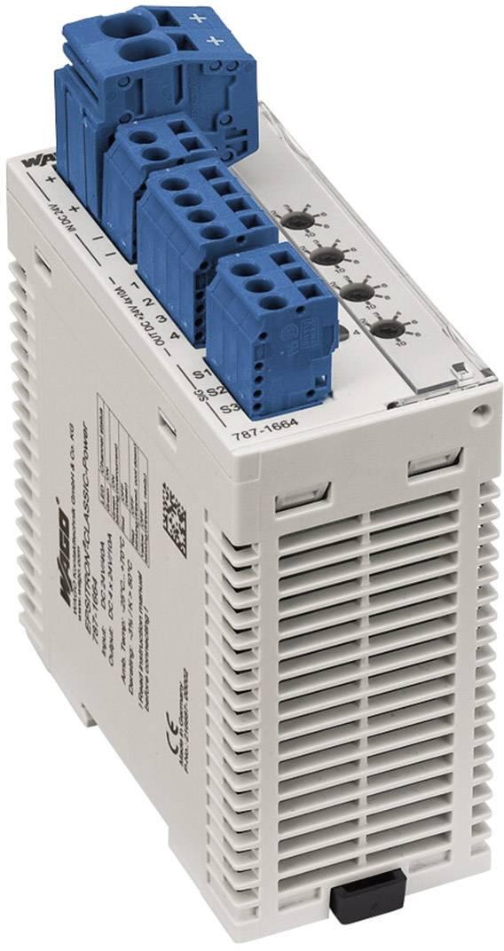 Istič na DIN lištu Wago Epsitron 787-1664, 4x 1- 10 A, 4x 24 V/DC