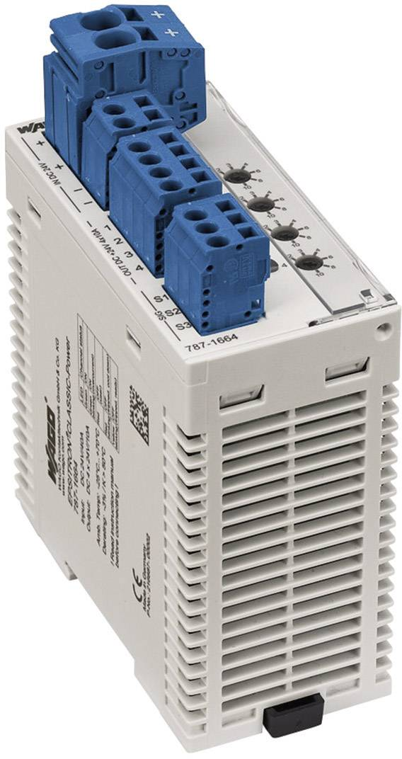 Jistič na DIN lištu Wago Epsitron 787-1664, 4x 1- 10 A, 4x 24 V/DC