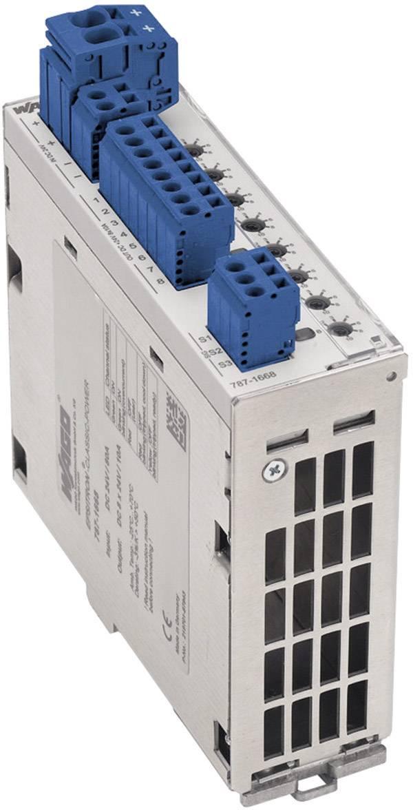 Istič na DIN lištu Wago Epsitron 787-1668, 8x 1- 10 A, 8x 24 V/DC
