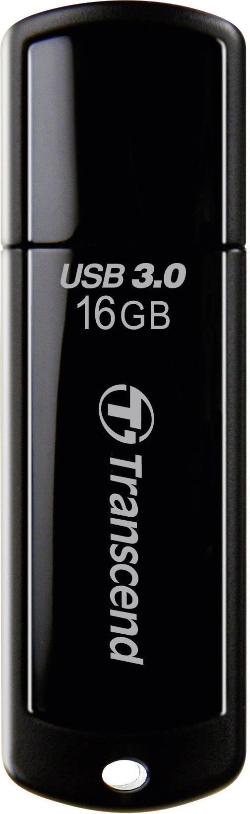 USB flash disk Transcend JetFlash® 700 16 GB, USB 3.0, čierna