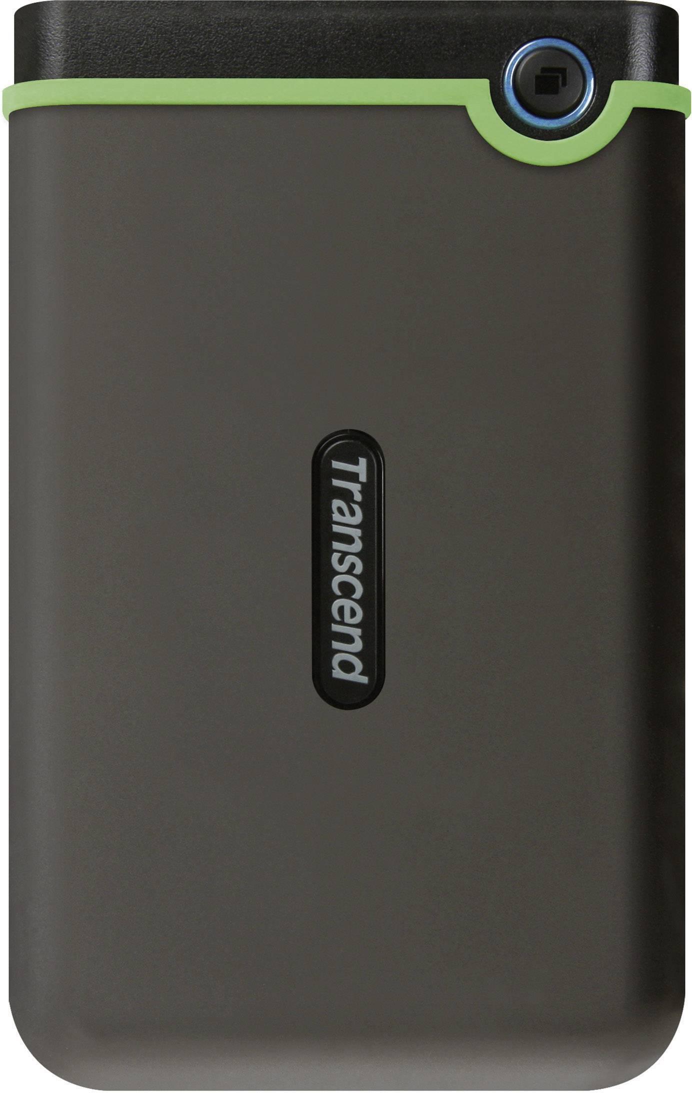 "Externý pevný disk 6,35 cm (2,5"") Transcend StoreJet 25M3, 1 TB, USB 3.0, železná sivá"