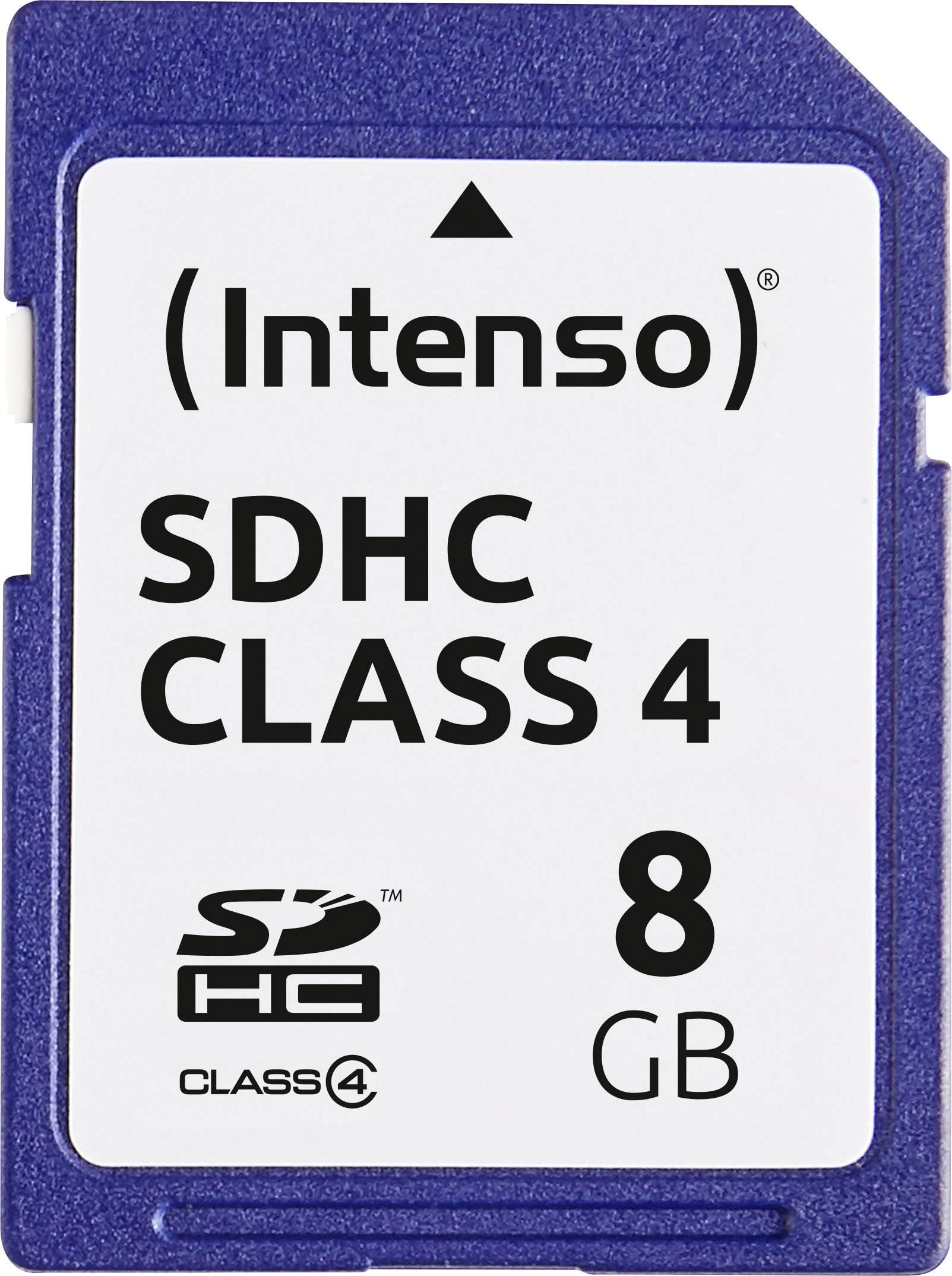 Pametova Karta Sdhc 8 Gb Intenso 8gb Secure Digital Card Sdhc Class