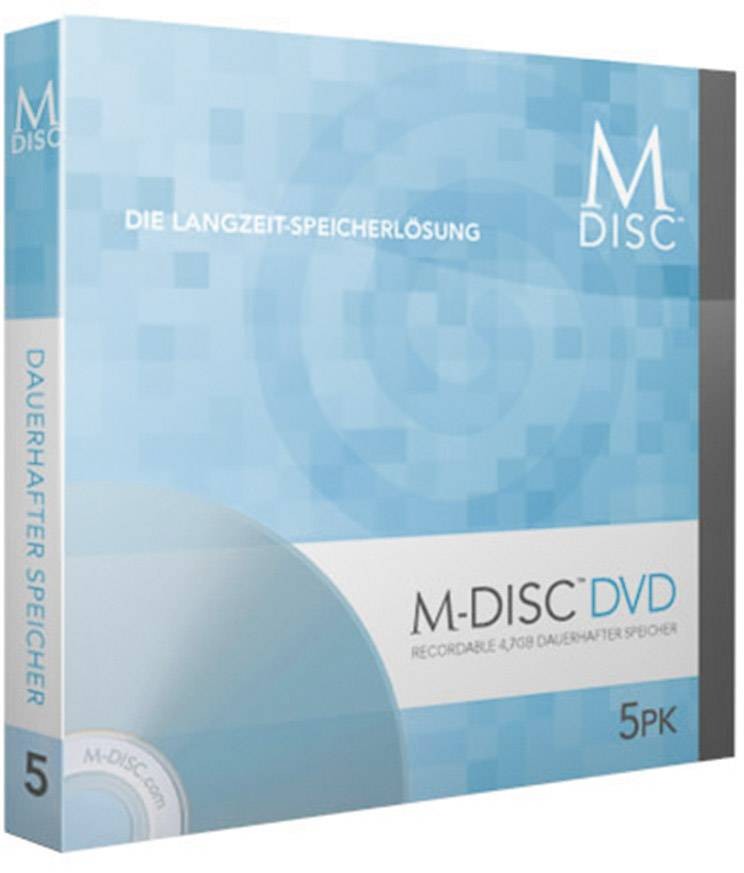 Prázdná CD M-Disc