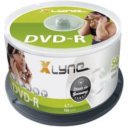 DVD-R 4.7 GB Xlyne 2050000, 50 ks, vřeteno