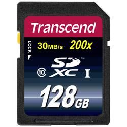 SDXC karta, 128 GB, Transcend Premium, Class 10