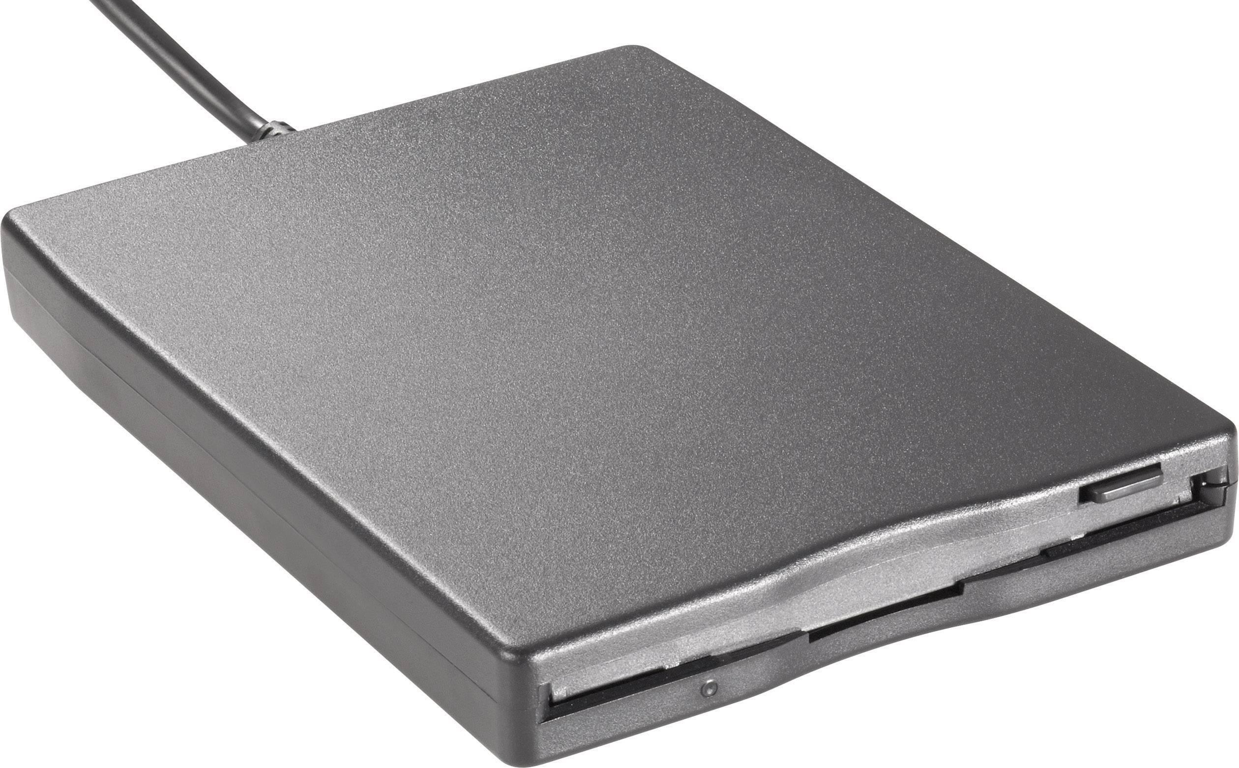 Disketová mechanika baset GEN-144, USB 2.0, 104 x 19 x 143 mm