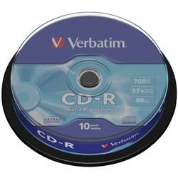 CR-R 700 MB Verbatim 43437 10 ks vřeteno