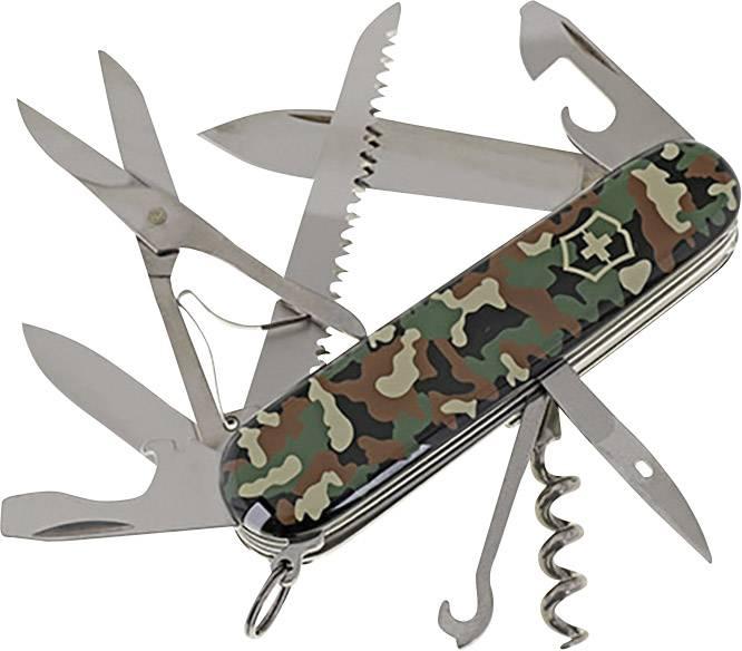 Švýcarský kapesní nožík Victorinox Huntsman 1.3713.94, maskáčová