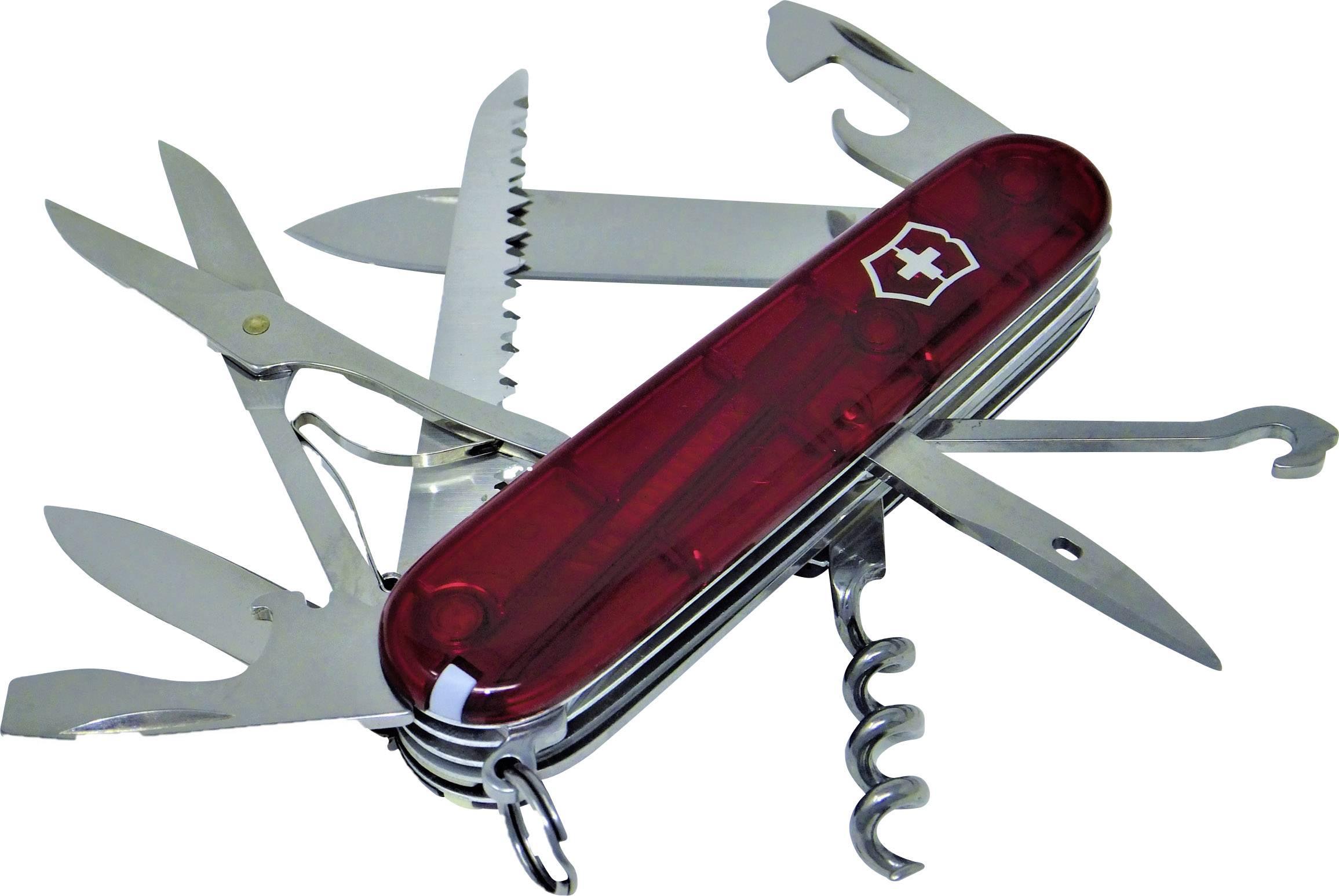 Švajčiarsky vreckový nôž Huntsman Victorinox 1.3713.T