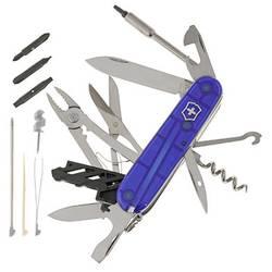 Švýcarský kapesní nožík Victorinox Cybertool 34 1.7725.T2, modrá (transparentní)