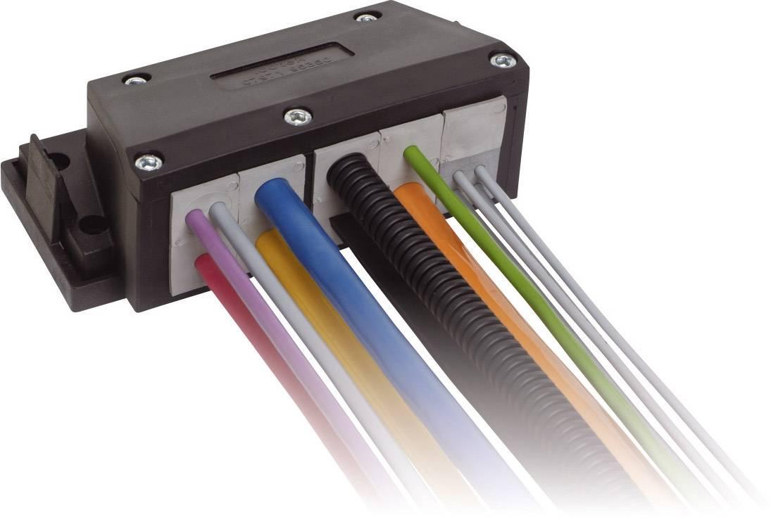 Icotek Ohišje s prirobnico KEL-FE KEL-FG A10 za kabel- maks. 34 mm, poliamid, črna