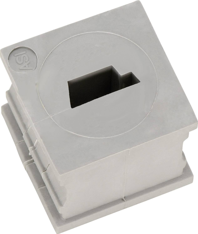 Icotek Kabelska kapa KT majhna, KT-ASI elastomer, siva