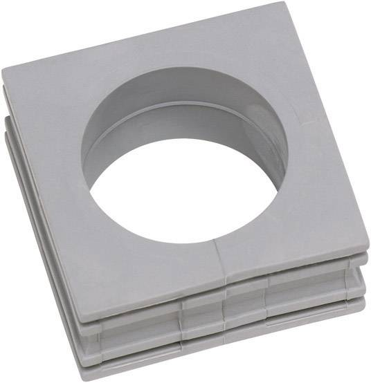 Icotek Kabelska kapa KT velika, KT 20 za kabel- 20 - 21 mm, elastomer, siva