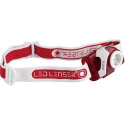 Čelovka LED Lenser SEO 5, červená