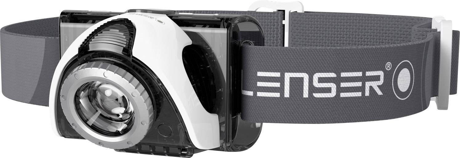 Čelovka LED Lenser SEO 5, čierna