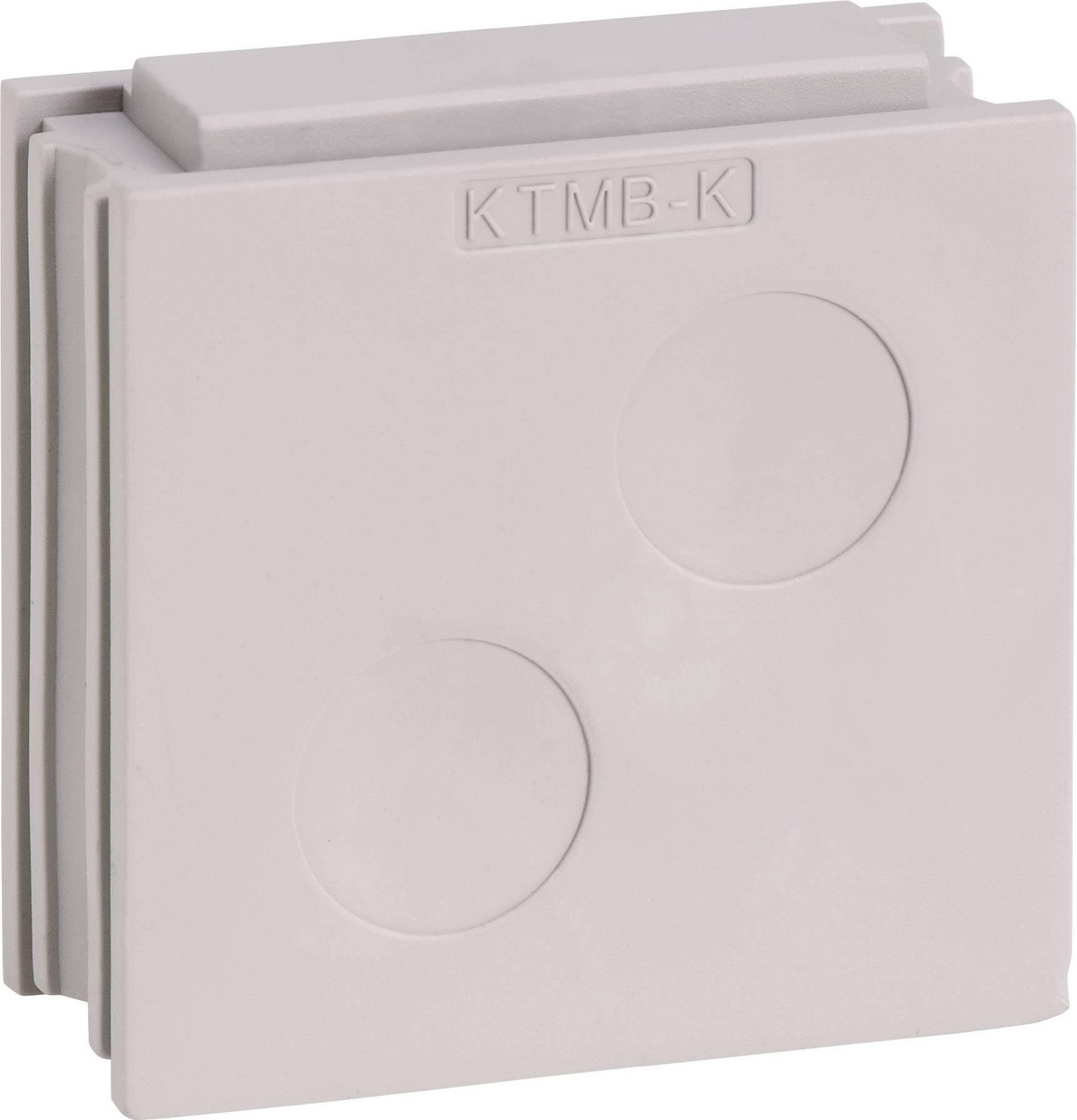 Icotek Kabelska kapa KTMB KTMB-K za kabel- 2 x 13 - 18 mm, elastomer, siva