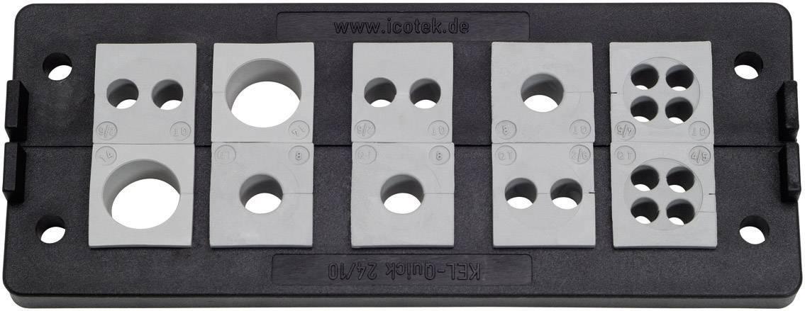 Icotek Letev za prehod kablov KEL-QUICK KEL-Quick 24|10 poliamid, črna
