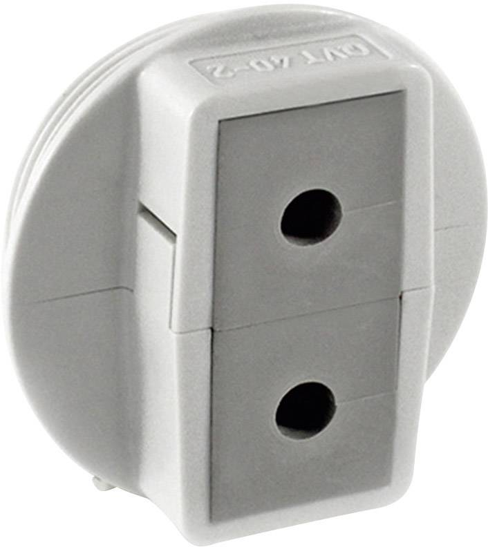 Icotek Kabelska uvodnica QVT QVT 40|2 velikost: M40 polikarbonat, siva