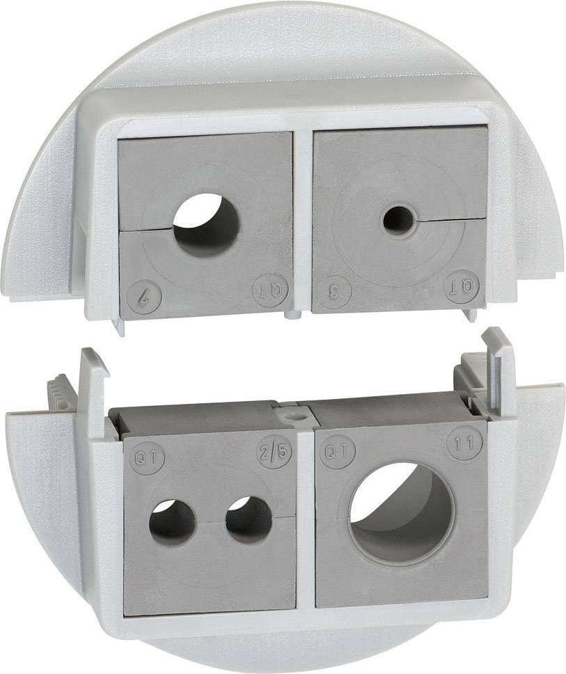 Icotek Kabelska uvodnica QVT QVT 50|4 velikost: M50 polikarbonat, siva