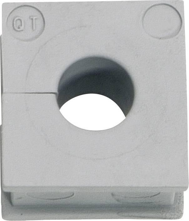 Icotek Kabelska kapa QT QT 10 za kabel- 10 - 11 mm, elastomer, siva