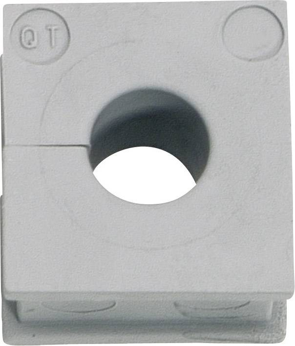 Icotek Kabelska kapa QT QT 4 za kabel- 4 - 5 mm, elastomer, siva