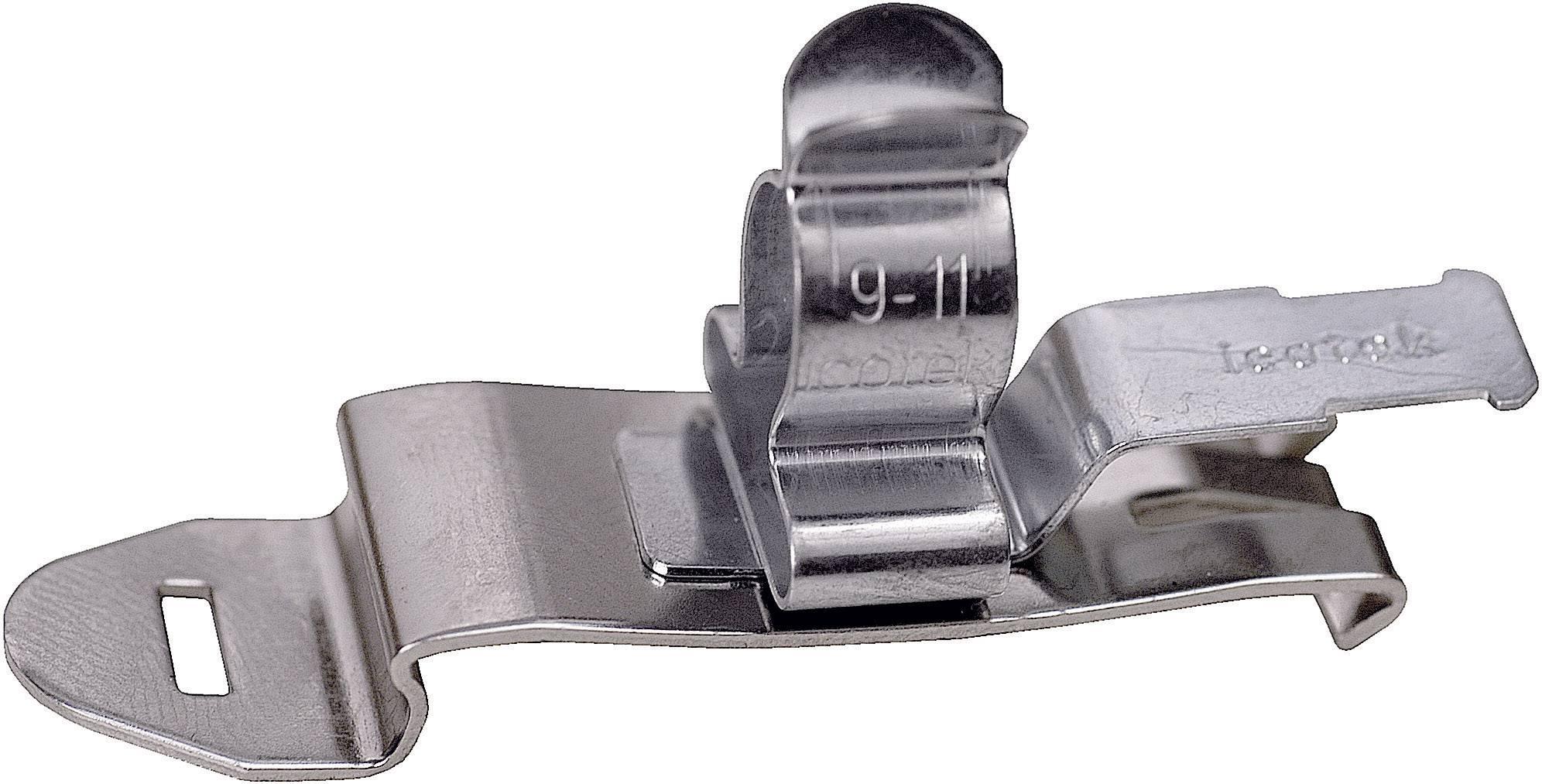 Icotek Zaščitna sponka SFZ SFZ|SKL 1,5-3 za kabel- 1.5 - 3 mm, pocinkano vzmetno jeklo