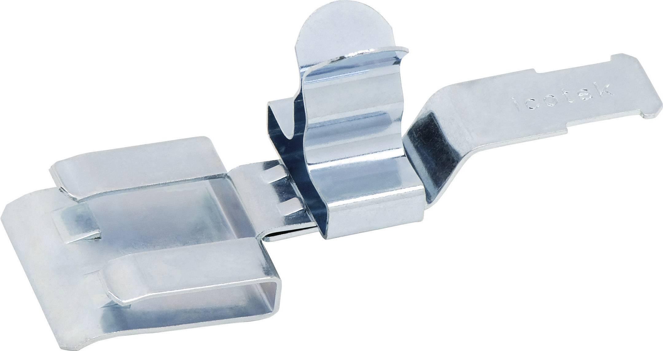 Icotek Zaščitna sponka PFZ PFZ|SKL 3-6 za kabel- 3 - 6 mm, pocinkano vzmetno jeklo