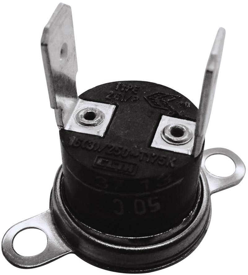 Bimetalový spínač ESKA 261 (261-Ö110-S95-V), 250 V, 10 A, (± 5°C) 110 °C  / 95 °C
