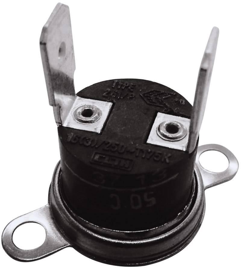 Bimetalový spínač ESKA 261 (261-Ö50-S35-V), 250 V, 10 A, (± 5°C) 50 °C  / 35 °C