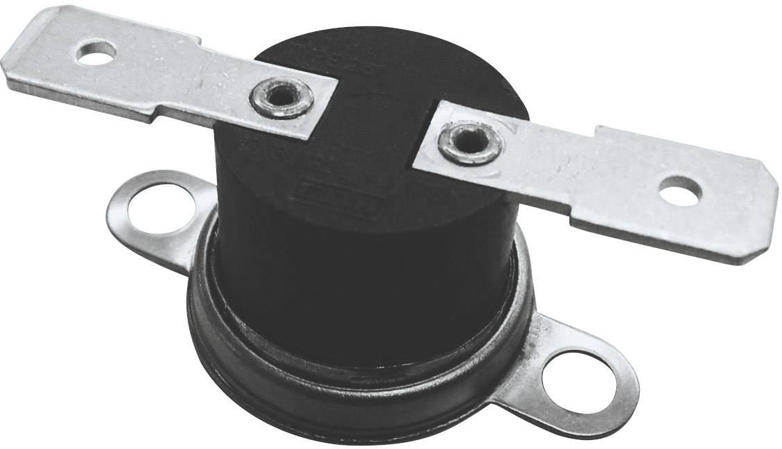 Bimetalový spínač ESKA 261 (261-Ö90-S75-H), 250 V, 10 A, (± 5°C) 90 °C  / 75 °C